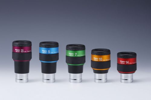 New Vixen SSW Eyepieces
